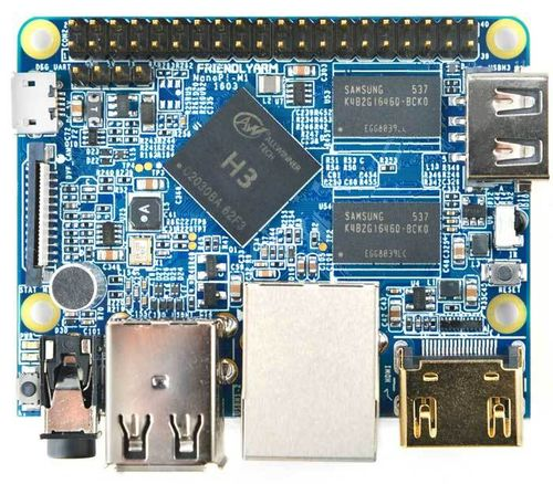 ALLNET FriendlyARM NanoPi M1, Linux SBC, 1 GB