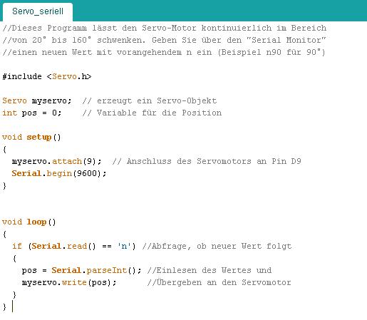 Roboter programmieren mit Arduino (Teil 1)[2]